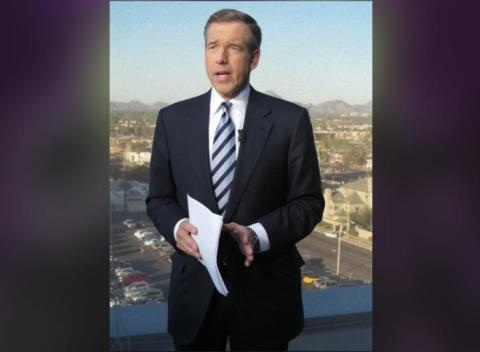 News video: Brian Williams Raps Snoop Dogg's