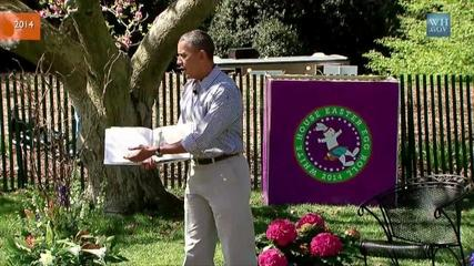 News video: Obama Gives Most Dramatic 'Where The Wild Things Are' Book Reading Yet